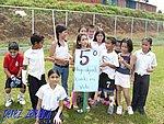 Alumnos de 5to grado de la Escuela de Tierra Prometida